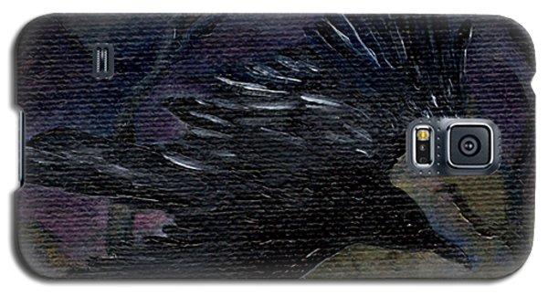 Raven In Stars Galaxy S5 Case