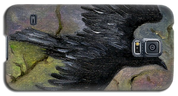 Raven In Twilight Galaxy S5 Case