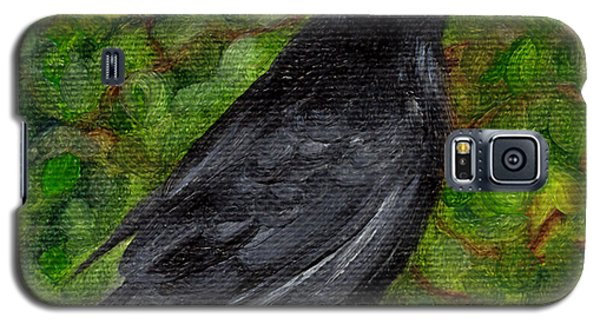 Raven In Wirevine Galaxy S5 Case
