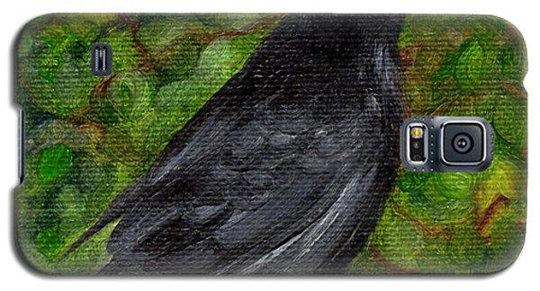 Raven In Wirevine Galaxy S5 Case