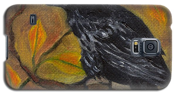 Raven On A Limb Galaxy S5 Case