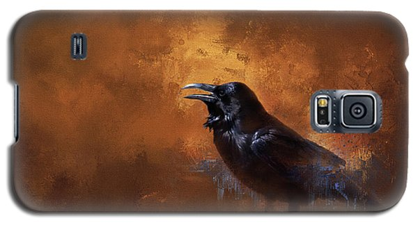Raven Galaxy S5 Case by Theresa Tahara