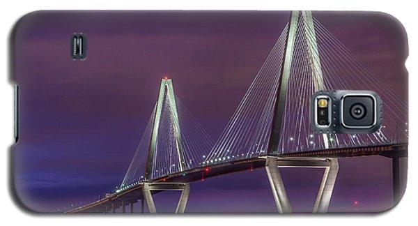Ravenel Bridge At Sunset Galaxy S5 Case