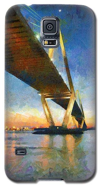 Ravenel Bridge Galaxy S5 Case by Lynne Jenkins