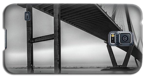 Ravenel Bridge November Fog Galaxy S5 Case