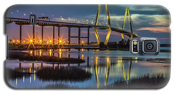 Ravenel Bridge Reflection Galaxy S5 Case