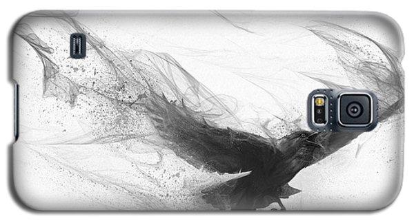 Galaxy S5 Case featuring the digital art Raven's Flight by Steve Goad