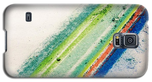 Galaxy S5 Case featuring the pastel Raw by Kristine Nora