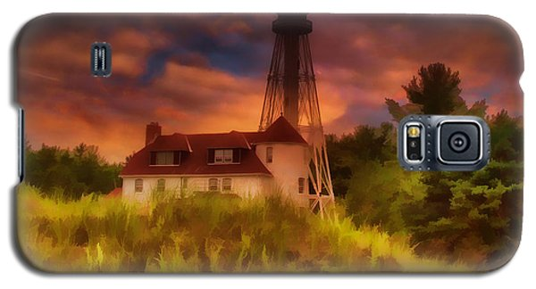 Rawley Point Lighthouse Galaxy S5 Case by Joel Witmeyer