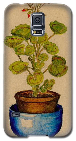 Ray-bet Geranium Galaxy S5 Case