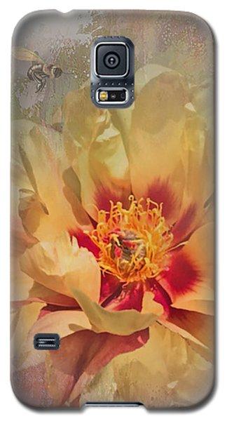 Rayanne's Peony Galaxy S5 Case by Jeff Burgess