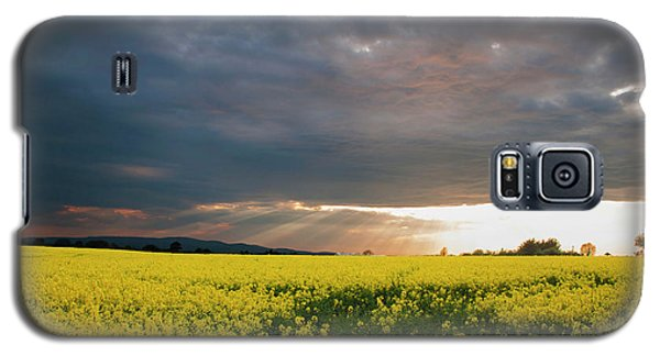 Galaxy S5 Case featuring the photograph Rays At Sunset by Rob Hemphill