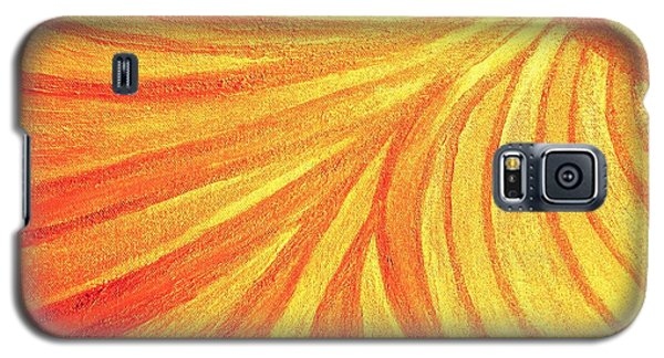 Rays Of Healing Light Galaxy S5 Case by Rachel Hannah