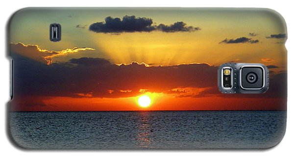 Rays Of Sunset Galaxy S5 Case