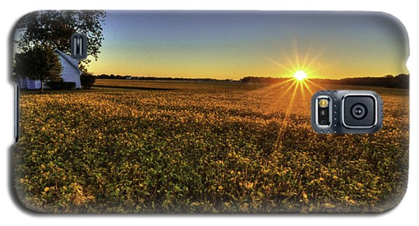 Rays Over The Field Galaxy S5 Case