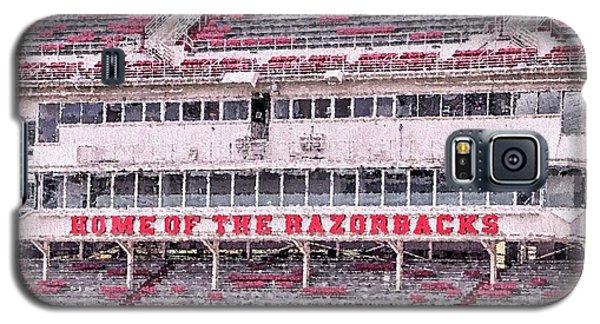 Razorback Stadium Galaxy S5 Case by JC Findley