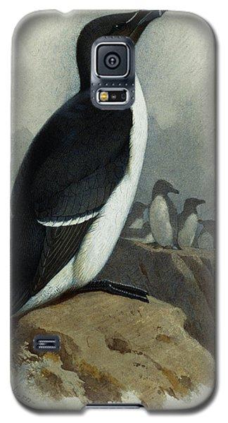 Razorbill Galaxy S5 Case by Archibald Thorburn