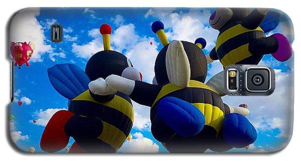 Hot Air Balloon Cheerleaders Galaxy S5 Case