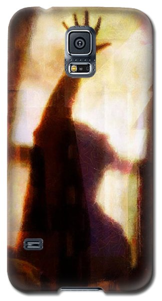 Galaxy S5 Case featuring the digital art Reaching For The Light by Gun Legler