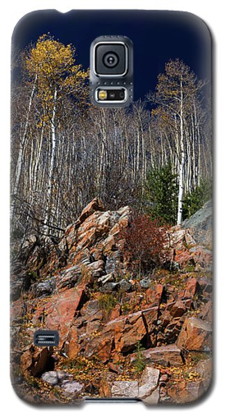 Galaxy S5 Case featuring the photograph Reaching Into Blue by Stephen Anderson