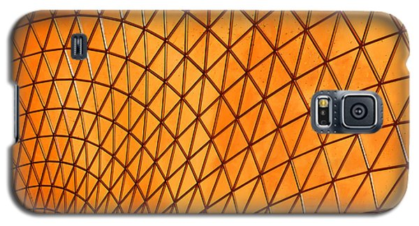 Galaxy S5 Case featuring the photograph Orange Glow by Elvira Butler