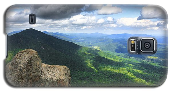Galaxy S5 Case featuring the photograph Reaching The Summit by Everett Houser