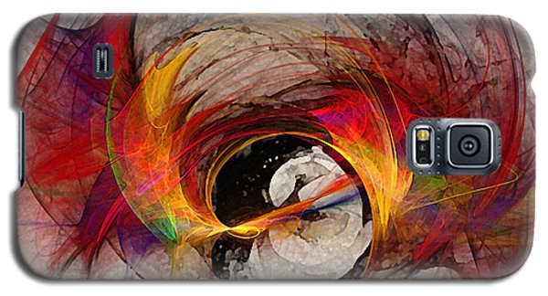 Reaction Abstract Art Galaxy S5 Case