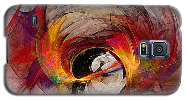 Reaction Abstract Art Galaxy S5 Case