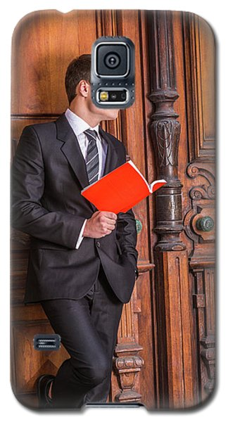 Reading And Thinking 150425 Galaxy S5 Case