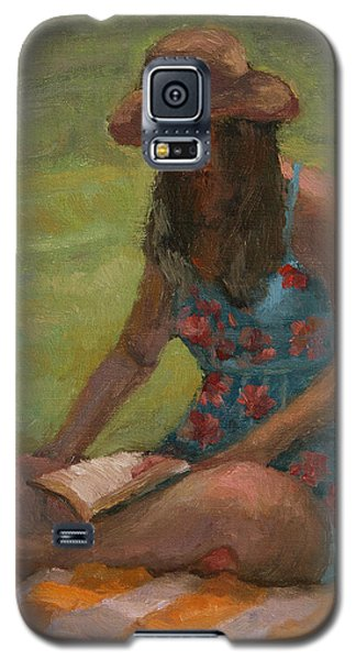 Reading At Jersey Valley Galaxy S5 Case