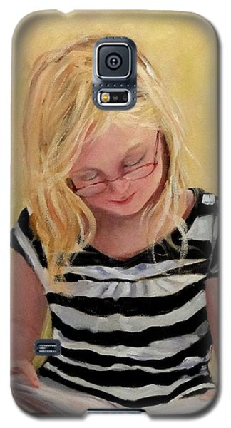 Reading Bee Galaxy S5 Case by Carol Berning