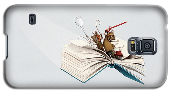 Reading Is An Adventure Galaxy S5 Case