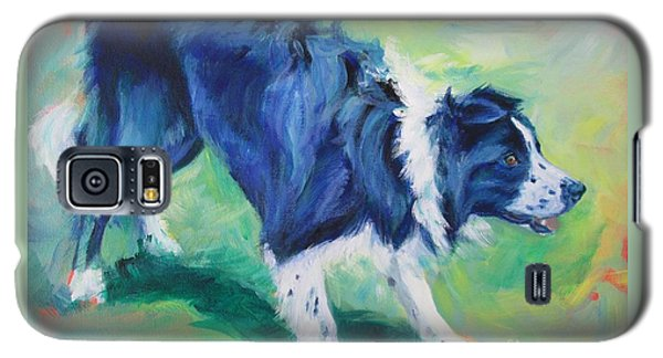 Ready To Fly - Border Collie Galaxy S5 Case