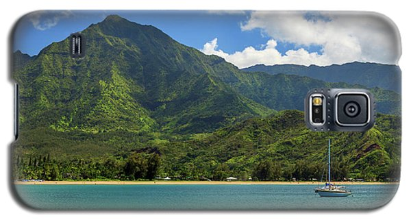 Ready To Sail In Hanalei Bay Galaxy S5 Case by James Eddy