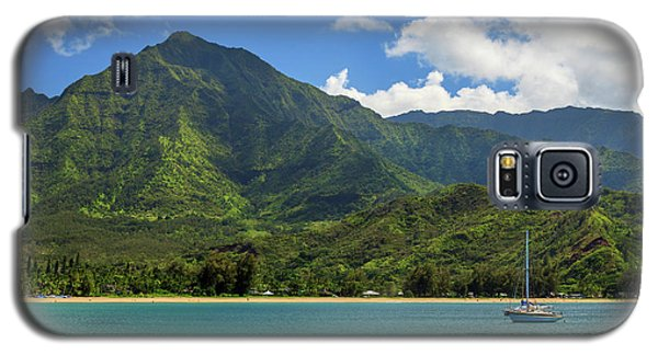 Ready To Sail In Hanalei Bay Galaxy S5 Case