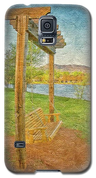 Ready To Swing At Furman, Greenville, South Carolina Galaxy S5 Case