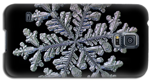 Real Snowflake - Hyperion Black Galaxy S5 Case