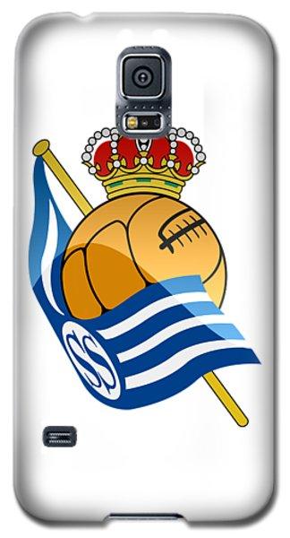 Real Sociedad De Futbol Sad Galaxy S5 Case by David Linhart