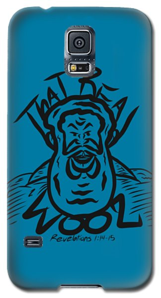 Real Wool Blue Galaxy S5 Case