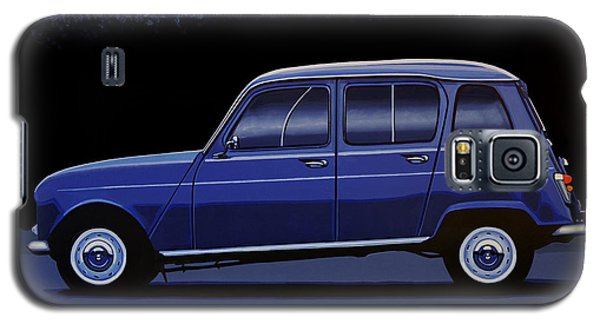 Truck Galaxy S5 Case - Renault 4 1961 Painting by Paul Meijering