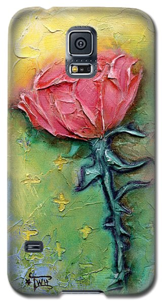 Galaxy S5 Case featuring the mixed media Reborn by Terry Webb Harshman