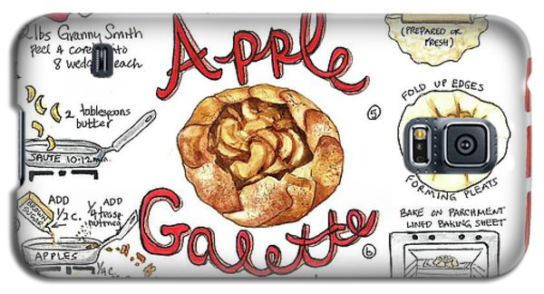 Recipe- Apple Galette Galaxy S5 Case