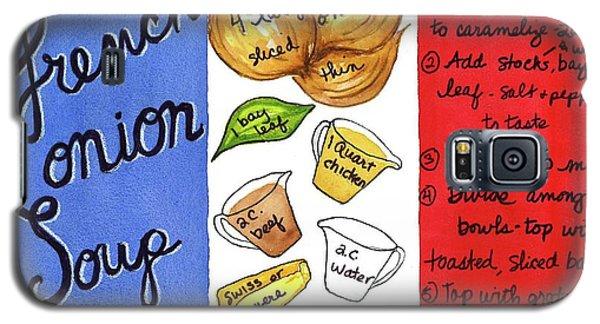 Recipe French Onion Soup Galaxy S5 Case