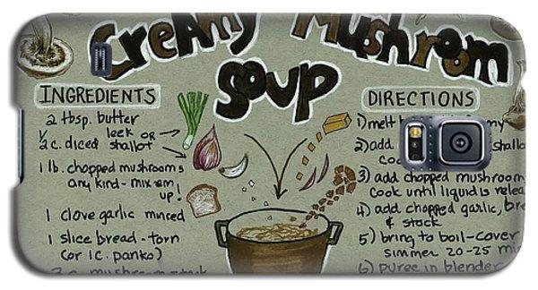 Recipe Mushroom Soup Galaxy S5 Case