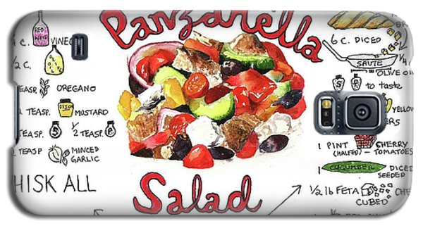 Recipe- Panzanella Salad Galaxy S5 Case