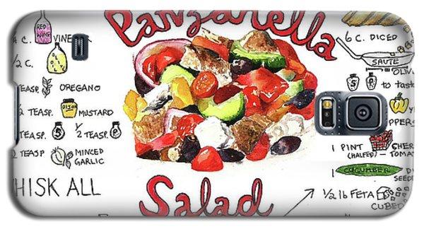 Recipe- Panzanella Salad Galaxy S5 Case
