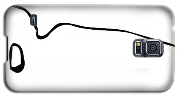 Reclining Buddha Minimalist Galaxy S5 Case