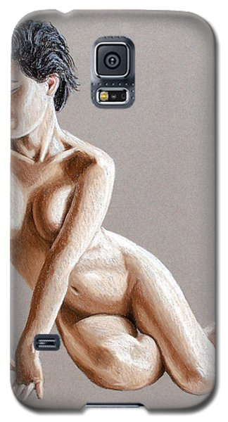 Galaxy S5 Case featuring the painting Reclining Figure by Joseph Ogle