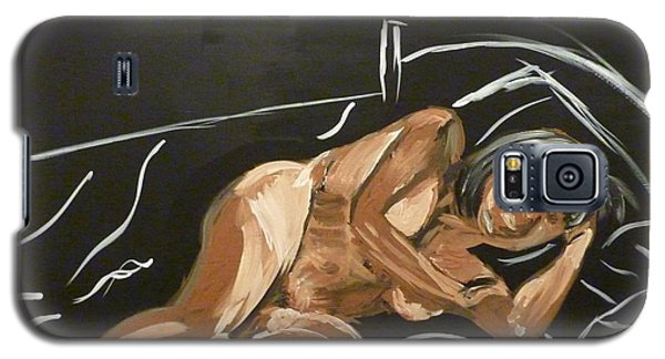 Reclining Nude Galaxy S5 Case