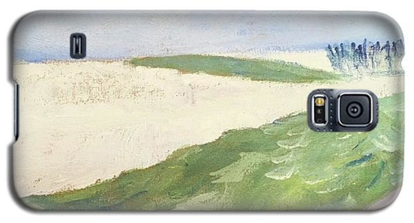 Galaxy S5 Case featuring the painting Recompense by Angela Annas